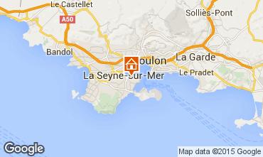 Carte La Seyne sur Mer Studio 10332