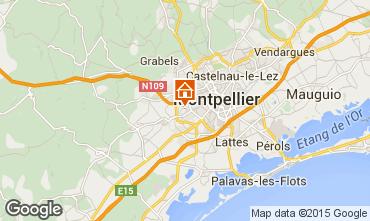 Carte Montpellier Villa 56668