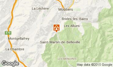 Carte Saint Martin de Belleville Chalet 98698