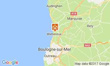 Carte Wimereux Gite 109892
