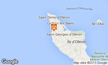 Carte Saint Georges d'Oléron Maison 61641