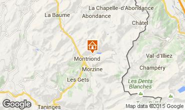 Carte Morzine Chalet 67065