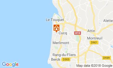 Carte Le Touquet Appartement 116191