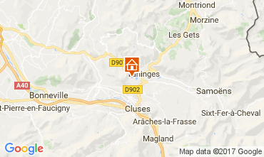 Carte Les Gets Chalet 66905