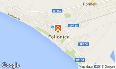 Carte Follonica Appartement 80818