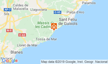 Carte Tossa de Mar Appartement 112430
