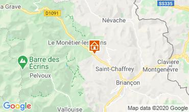 Carte Serre Chevalier Chalet 27244