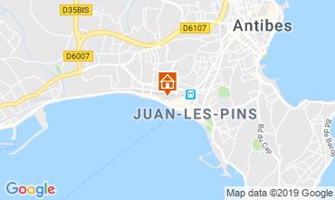 Carte Juan les Pins Studio 92523