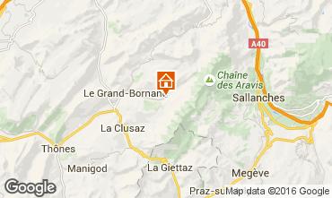 Carte Le Grand Bornand Chalet 66538