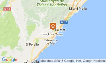 Carte La Ametlla De Mar Maison 114254