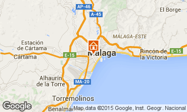 Carte Málaga Appartement 62297