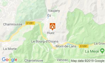 Carte Alpe d'Huez Appartement 117531