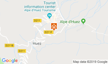 Carte Alpe d'Huez Appartement 117531