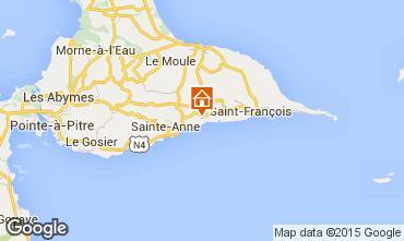 Carte Sainte Anne (Guadeloupe) Gite 60311