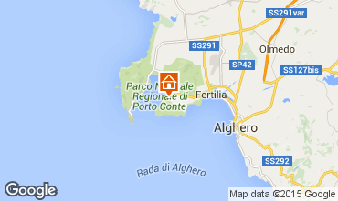 Carte Alghero Appartement 78936