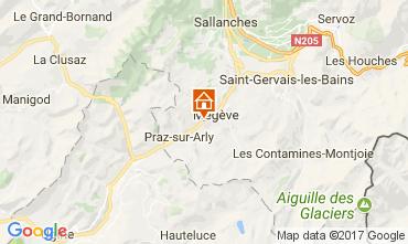 Carte Megève Chalet 111389