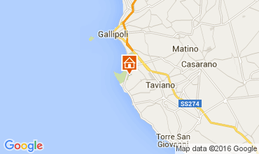 Carte Gallipoli Villa 95969