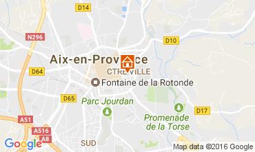 Carte Aix en Provence Appartement 88090