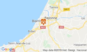 Carte Biarritz Villa 119911