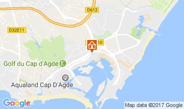 Carte Cap d'Agde Studio 108561