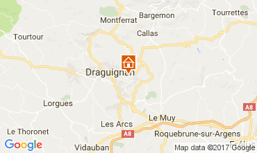 Carte Draguignan Villa 111531