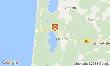 Carte Lacanau Maison 115223