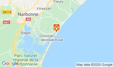 Carte Narbonne Maison 74224
