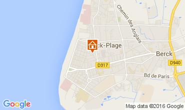 Carte Berck-Plage Studio 54653