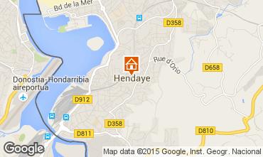 Carte Hendaye Appartement 73353