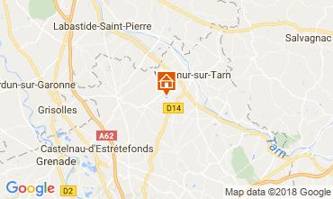 Carte Toulouse Gite 97194