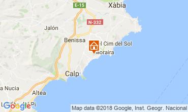 Carte Moraira Maison 114144