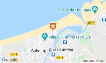 Carte Cabourg Appartement 10782