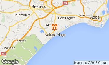 Carte Cap d'Agde Mobil-home 91981