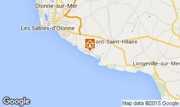 Carte Talmont-Saint-Hilaire Appartement 7129