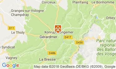 Carte Xonrupt Longemer Chalet 114382
