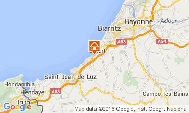 Carte Biarritz Appartement 45375