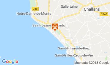 Carte Saint Jean de Monts Maison 115608