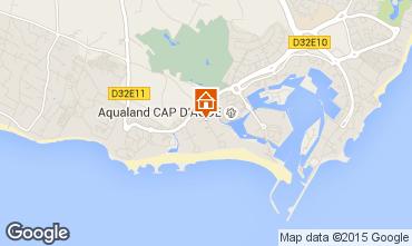 Carte Cap d'Agde Appartement 25567