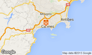 Carte Cannes Appartement 5542
