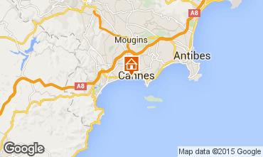 Carte Cannes Appartement 5542