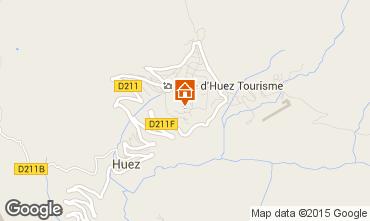 Carte Alpe d'Huez Studio 41580