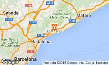 Carte Barcelone Maison 44076