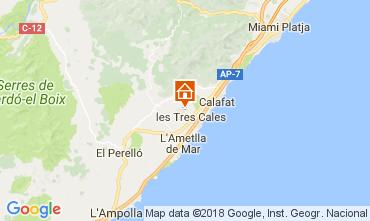Carte La Ametlla de Mar Villa 39451