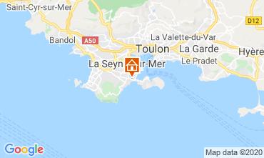 Carte La Seyne sur Mer Gite 113184