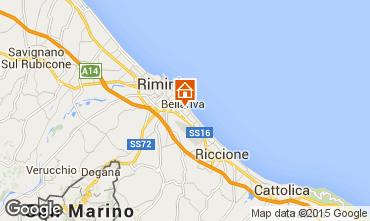 Carte Rimini Chambre d'h�te 58107