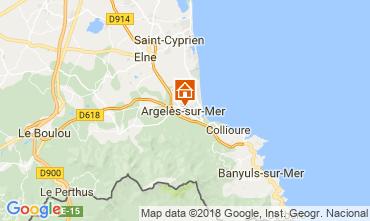 Carte Argeles sur Mer Maison 114357