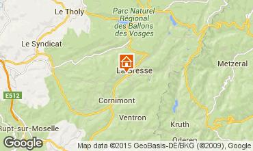 Carte La Bresse Appartement 83747