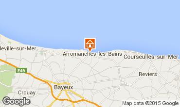 Carte Bayeux Gite 81097
