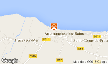 Carte Arromanches Gite 81097