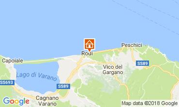 Carte Rodi Garganico Villa 113185